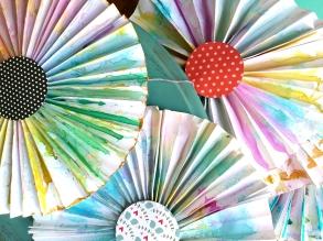 medallones de papel