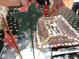 pastel fiesta scrap