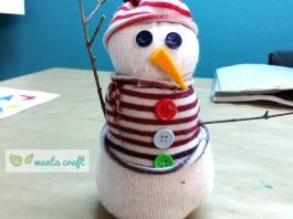 snowman menta craft
