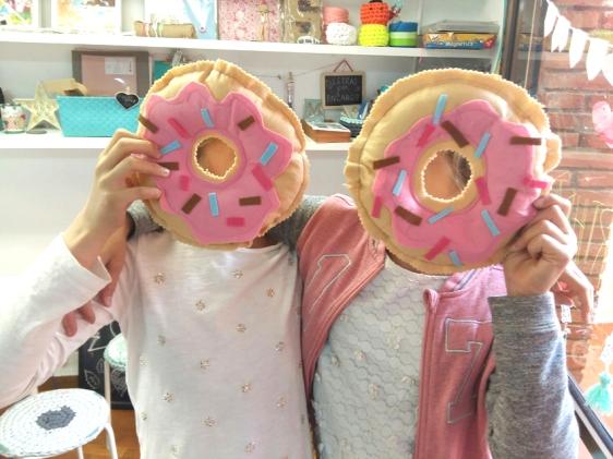 costura donut menta craft