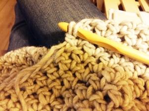bufanda de ganchillo