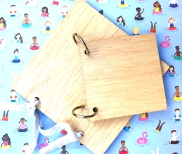 tapas de madera scrap